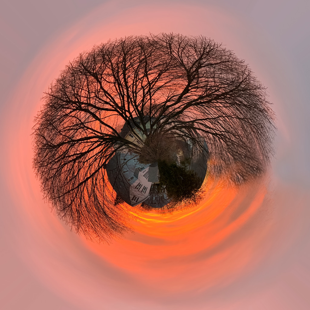 little planet sunrise by jernst1779