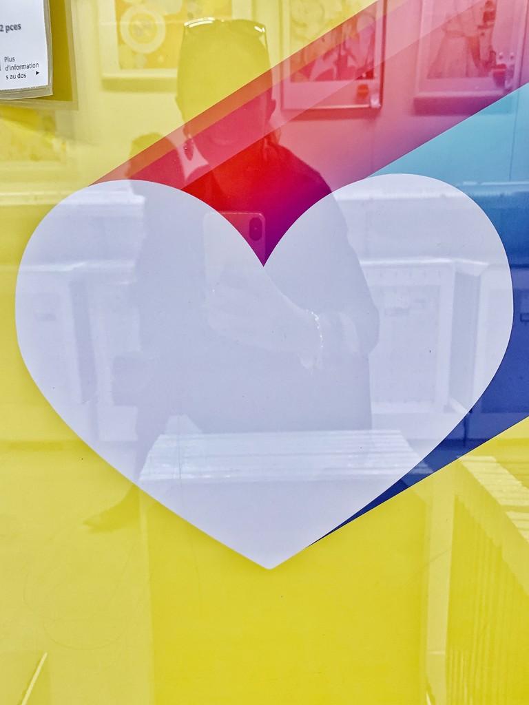Big white heart.  by cocobella