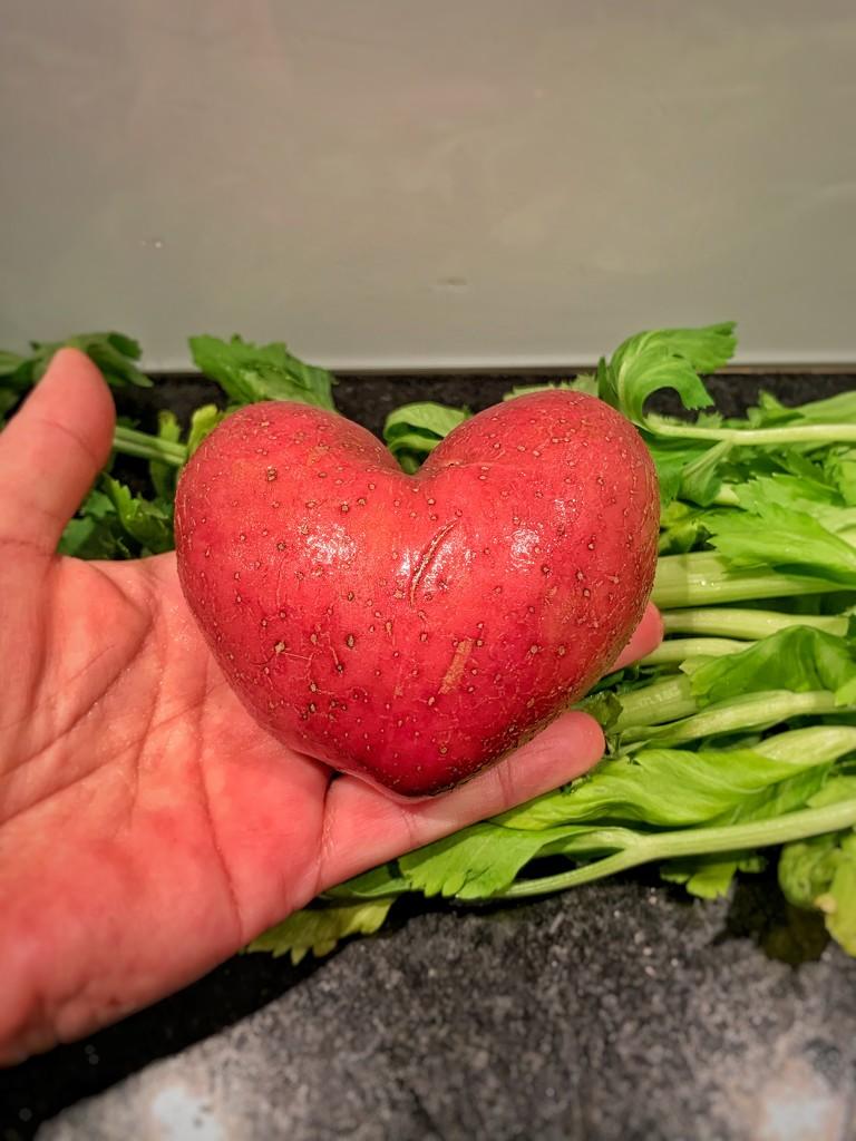 The potatoe heart.  by cocobella