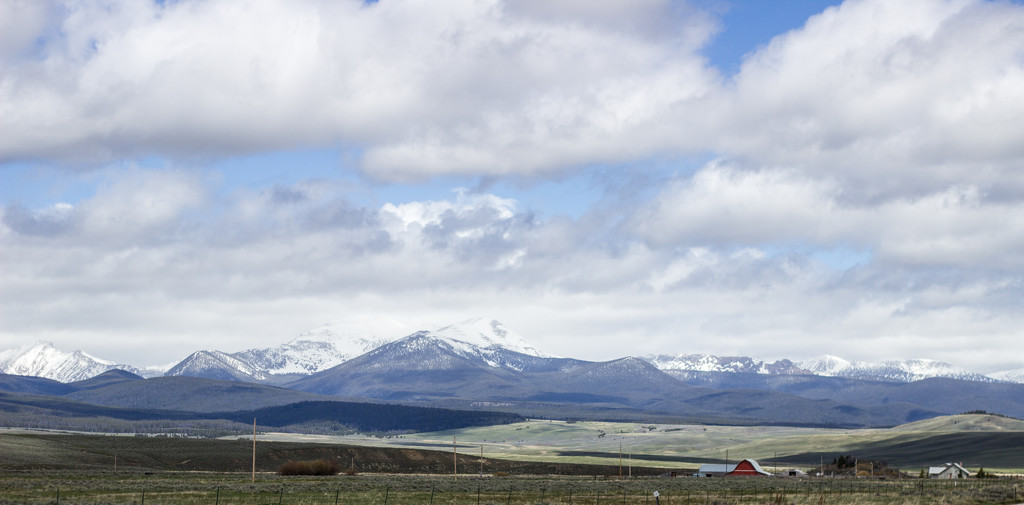 Pintler Mountains by jetr