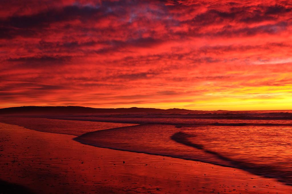 Sunrise Waikuku Beach by maureenpp