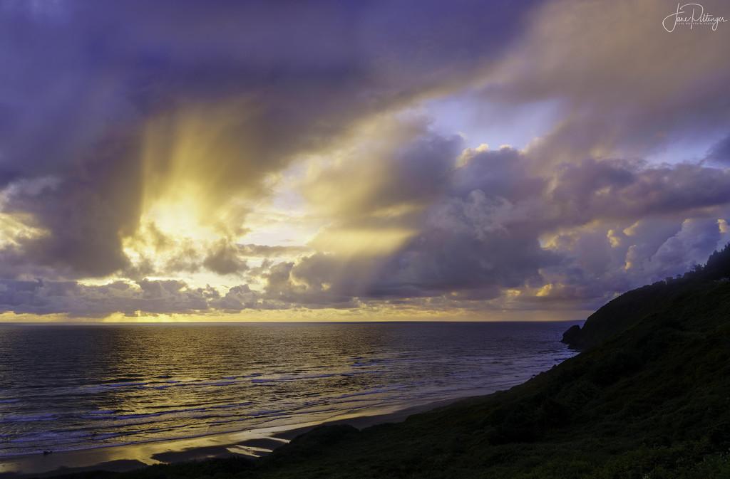 May Sunset by jgpittenger