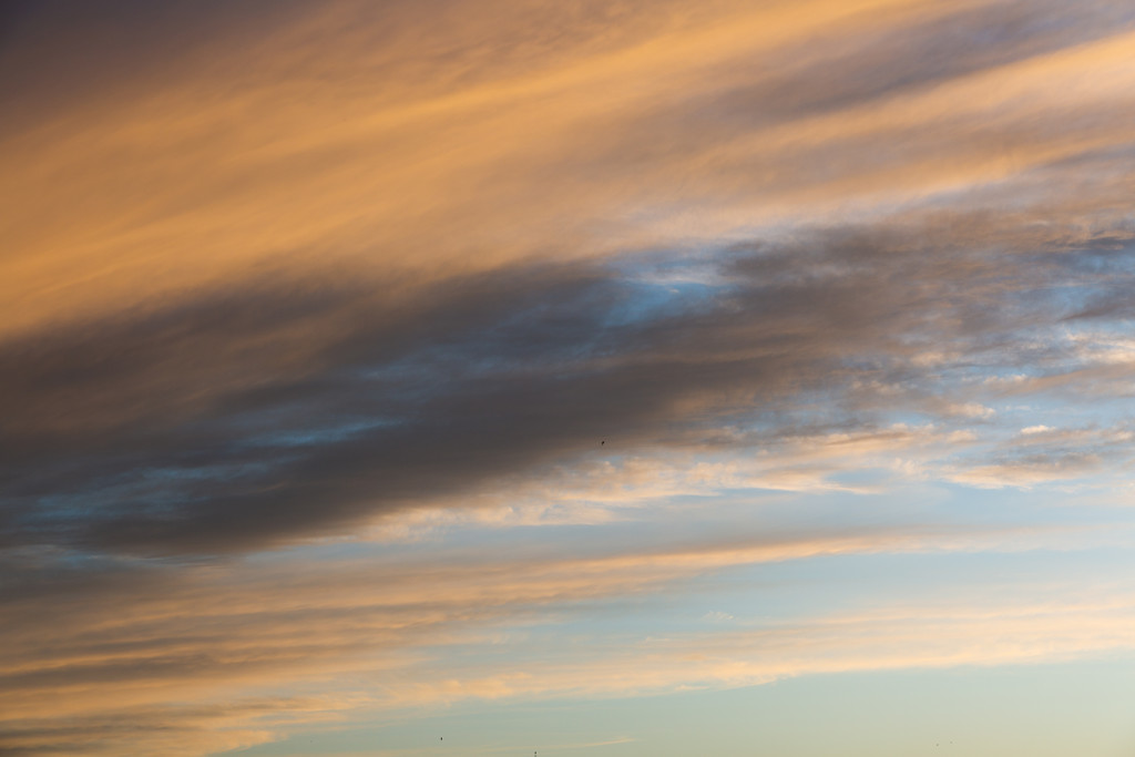 Cloud at sunset by chrissreyn