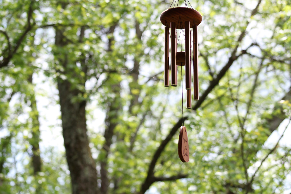 Wind chime by mittens