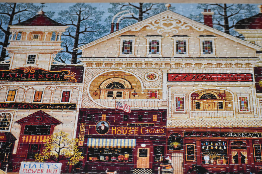 1000 Pieces by bjywamer