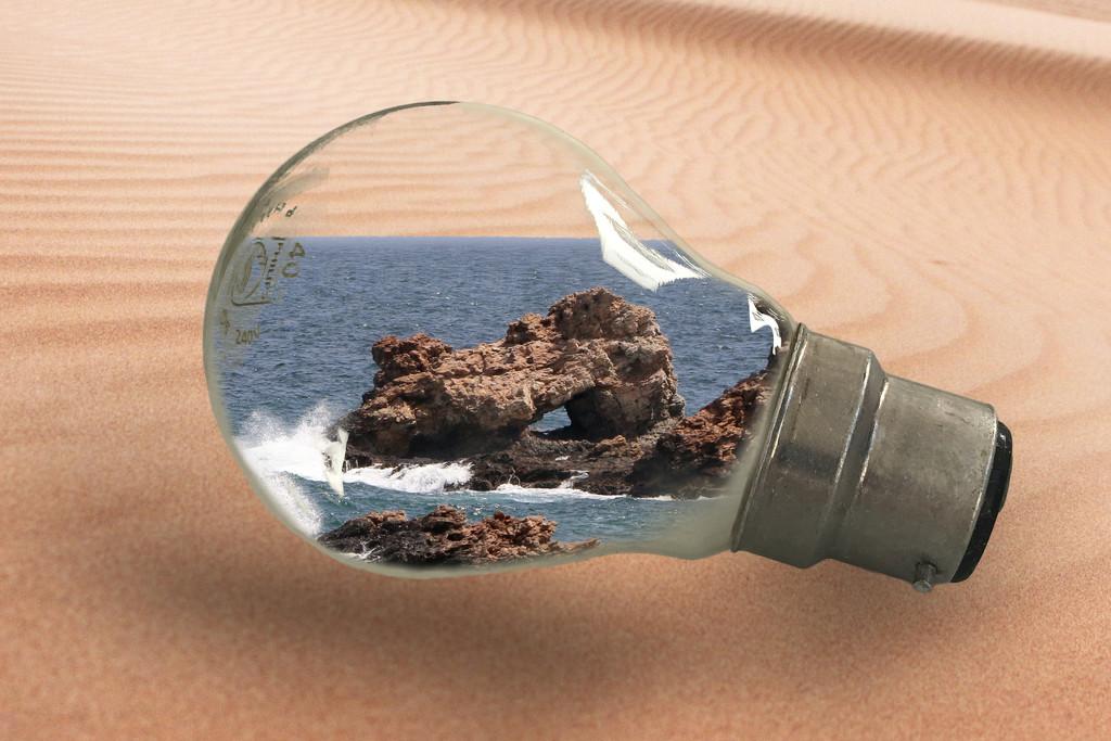 Filled light bulb  by ingrid01