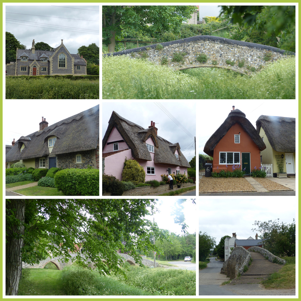 Bridges and Cottages Moulton  by foxes37