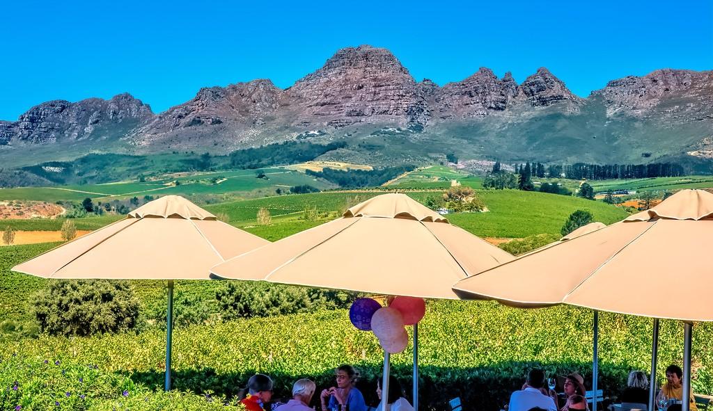 Guardian Peak in summer by ludwigsdiana