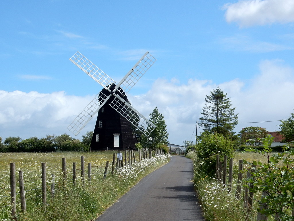 Lacy Green Windmill - 6.0 Miles by bulldog