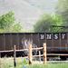 Half Train Car/Half Hillside