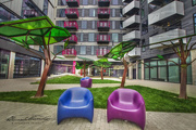"""27th May 2020 - Colors Poppin"""" in the Courtyard"""