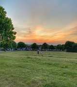 28th May 2020 - Sunset on the green