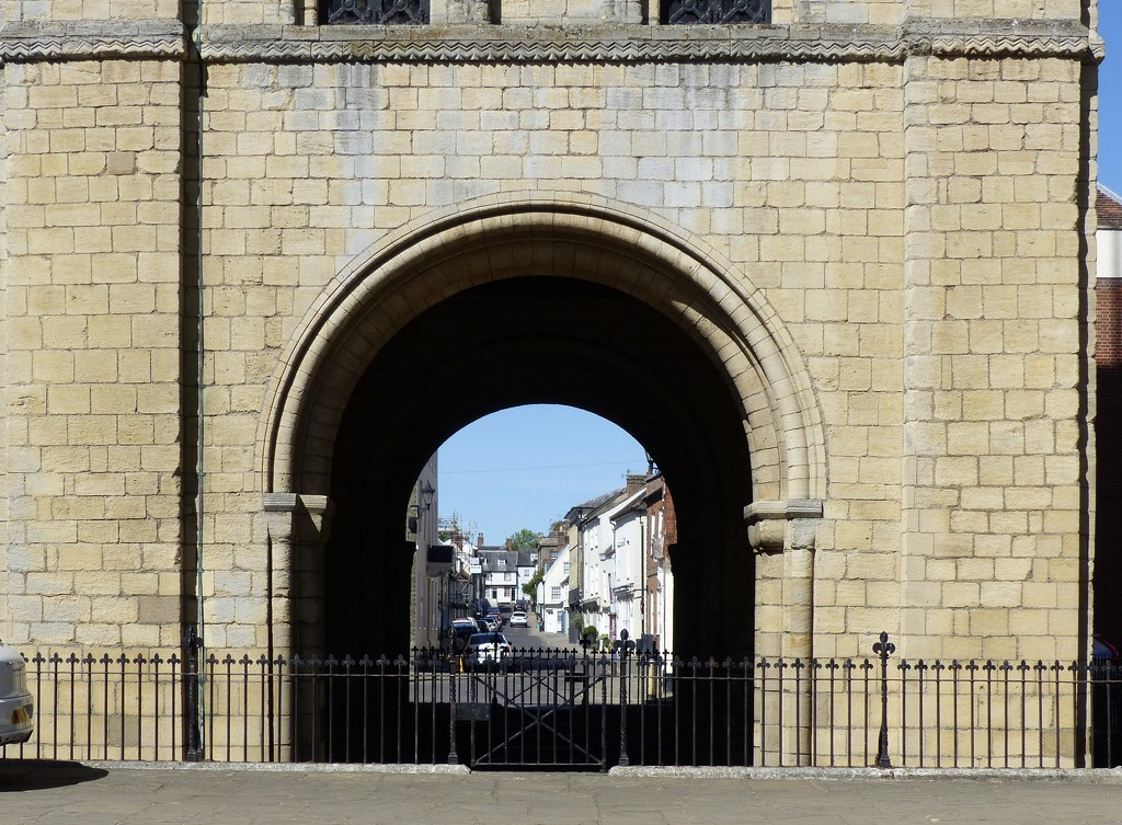 Through the 11th Century Arch by foxes37