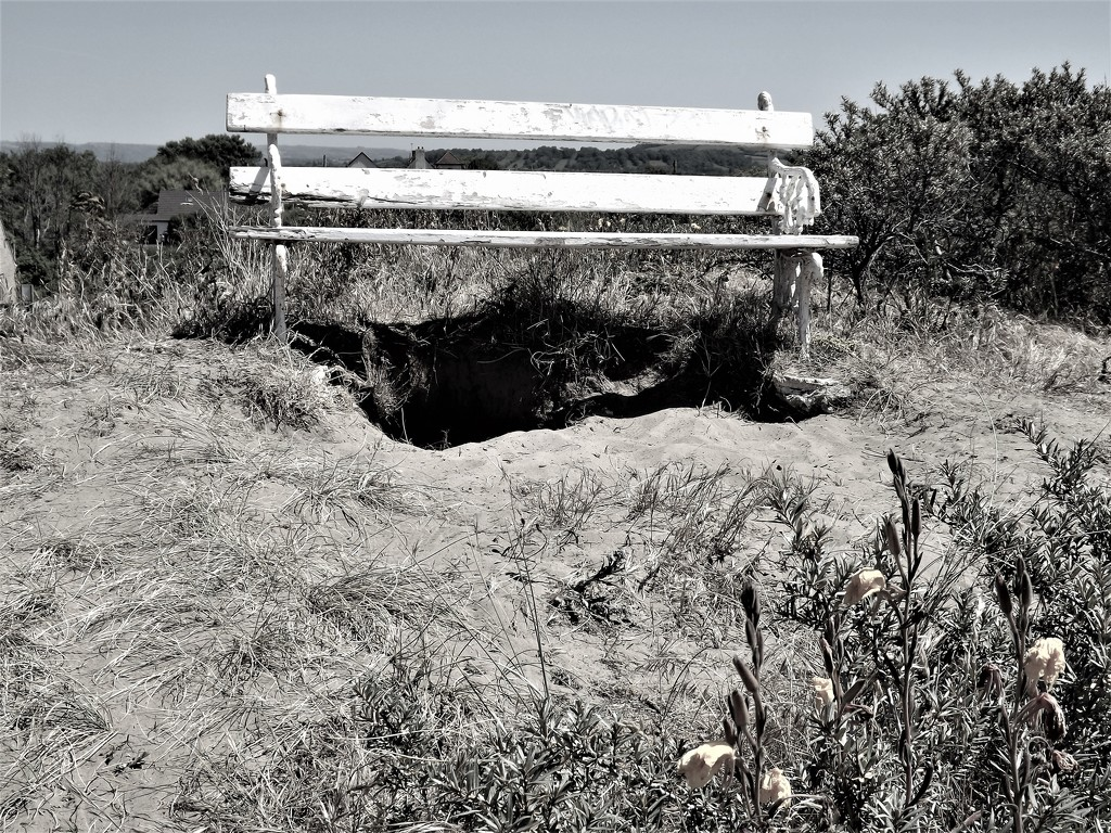 Battered Bench by ajisaac