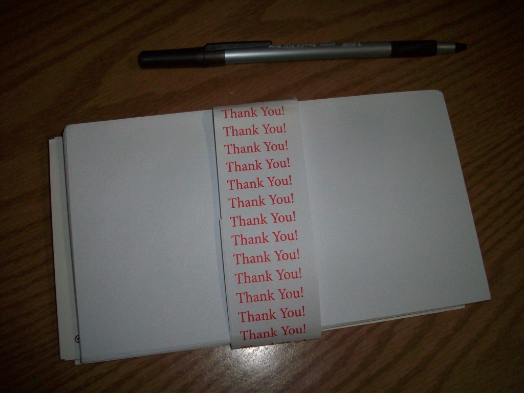 Thank You for your letter by stillmoments33
