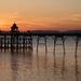 Clevedon Pier at sunset by neiljforsyth