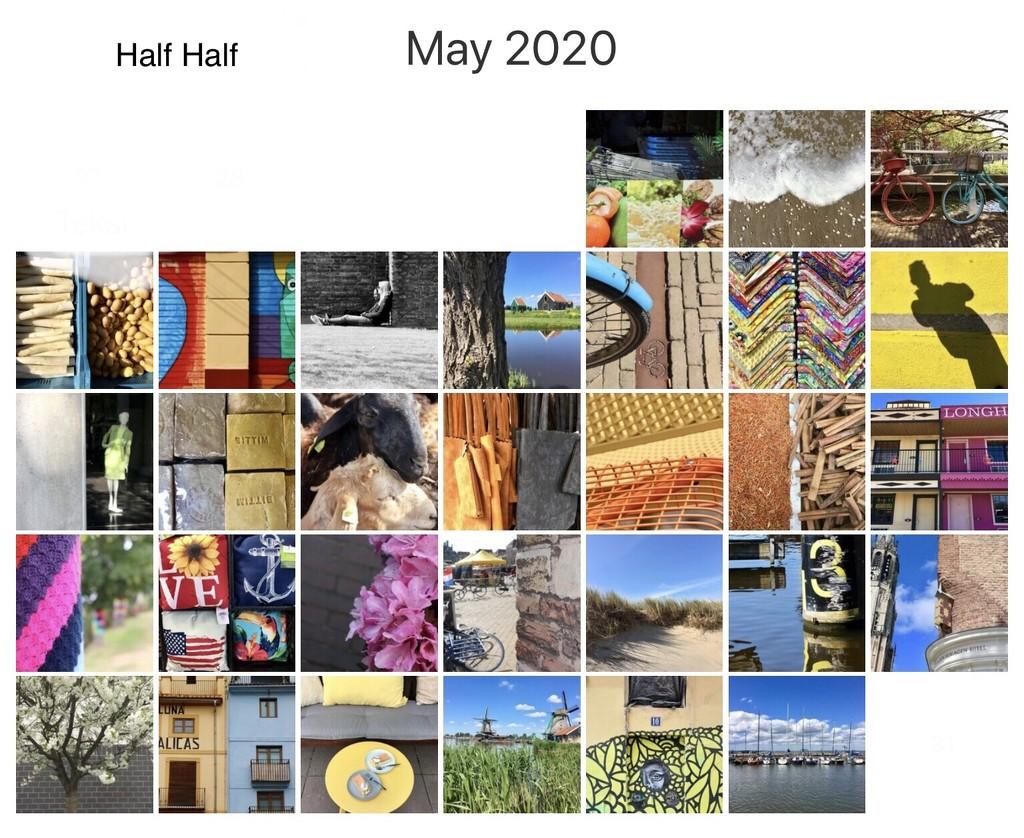 Half Half Challenge finished ☺️ by momamo