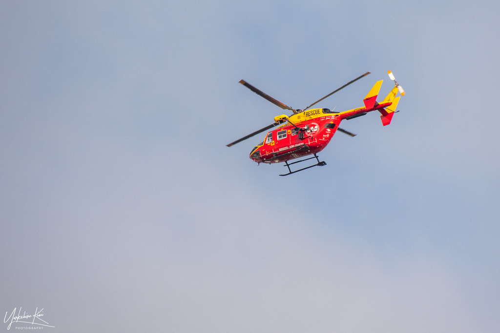 Rescue Helicopter by yorkshirekiwi