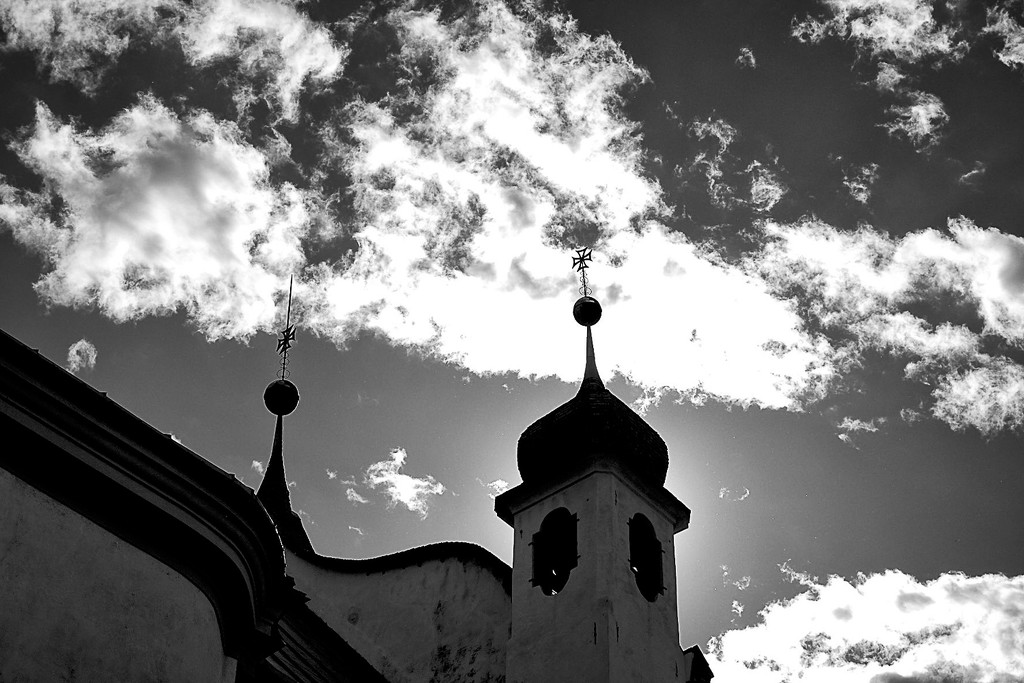 Mountain church by caterina