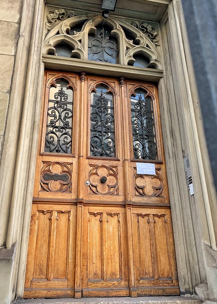 Nine hearts on an old door.  by cocobella