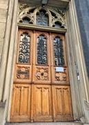 3rd Jun 2020 - Nine hearts on an old door.
