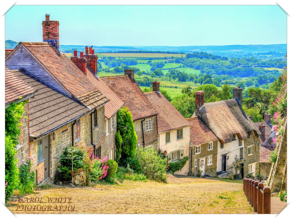 Gold Hill,Shaftesbury.(home of the Hovis advert) by carolmw