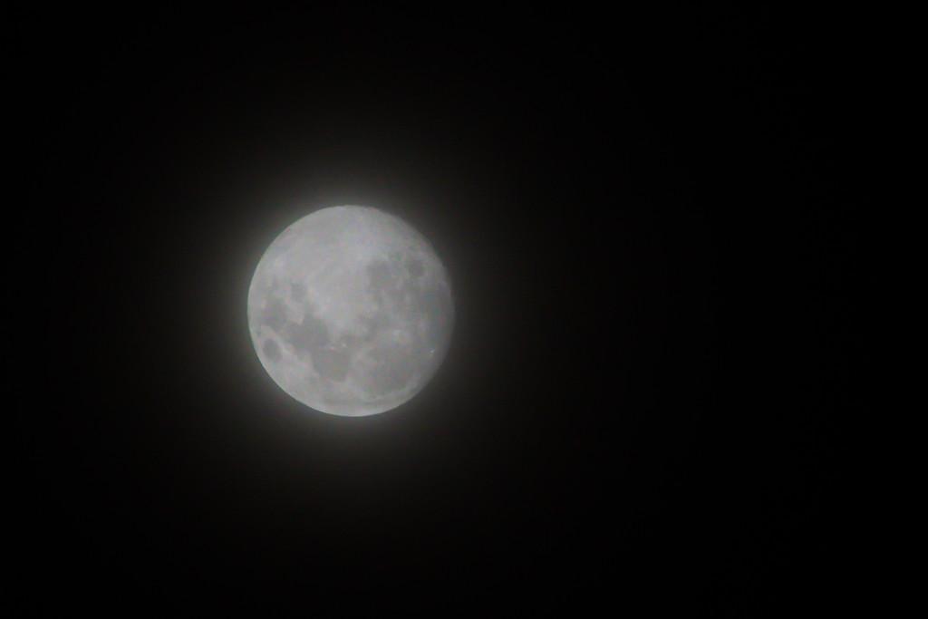 Foggy Moon by j_golab