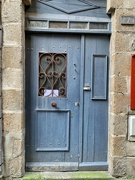 6th Jun 2020 - Two hearts on a blue lavender door.