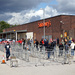 The New Normal - The Social Distance Queue at Sainsbury's