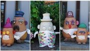 6th Jun 2020 - The Potato Head Family Stays Safe