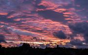 4th Jun 2020 - Stormy sunset sky