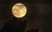 5th Jun 2020 - Strawberry Moon Over Chicago