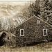 Old Farmhouse and Barn
