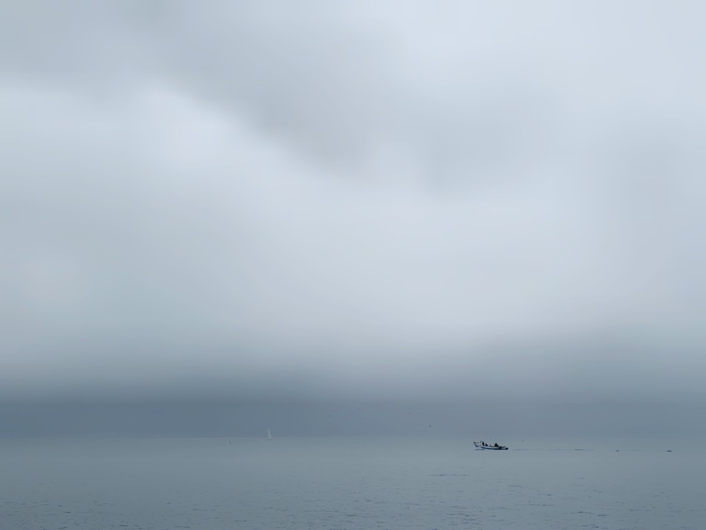 Fog on the lake.  by cocobella