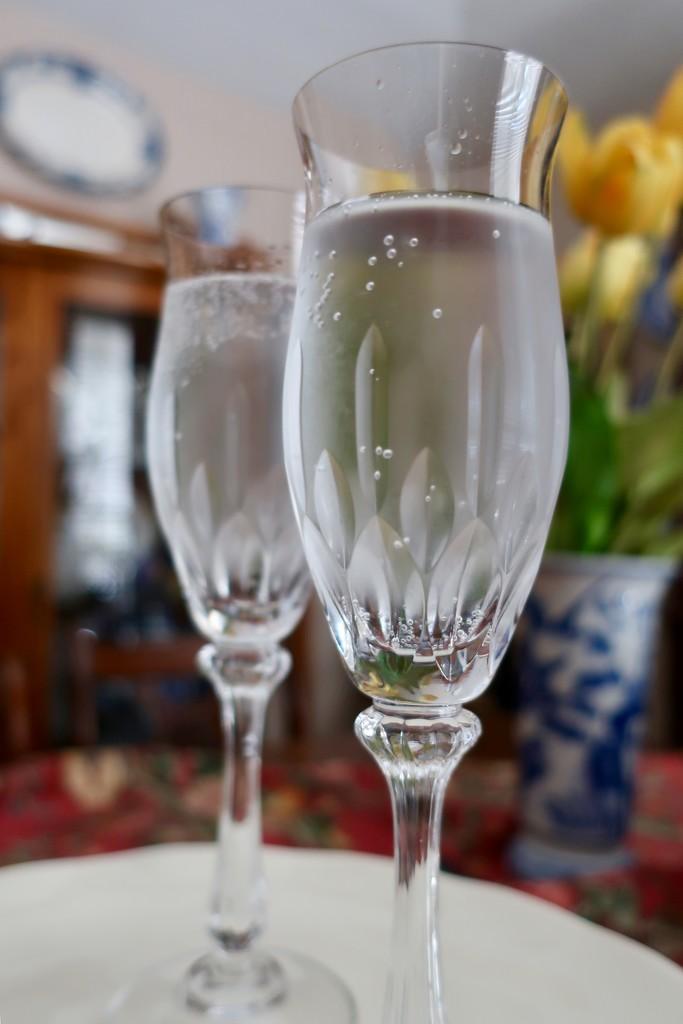 Faux champagne by louannwarren