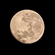7th Jun 2020 - This mornings full moon