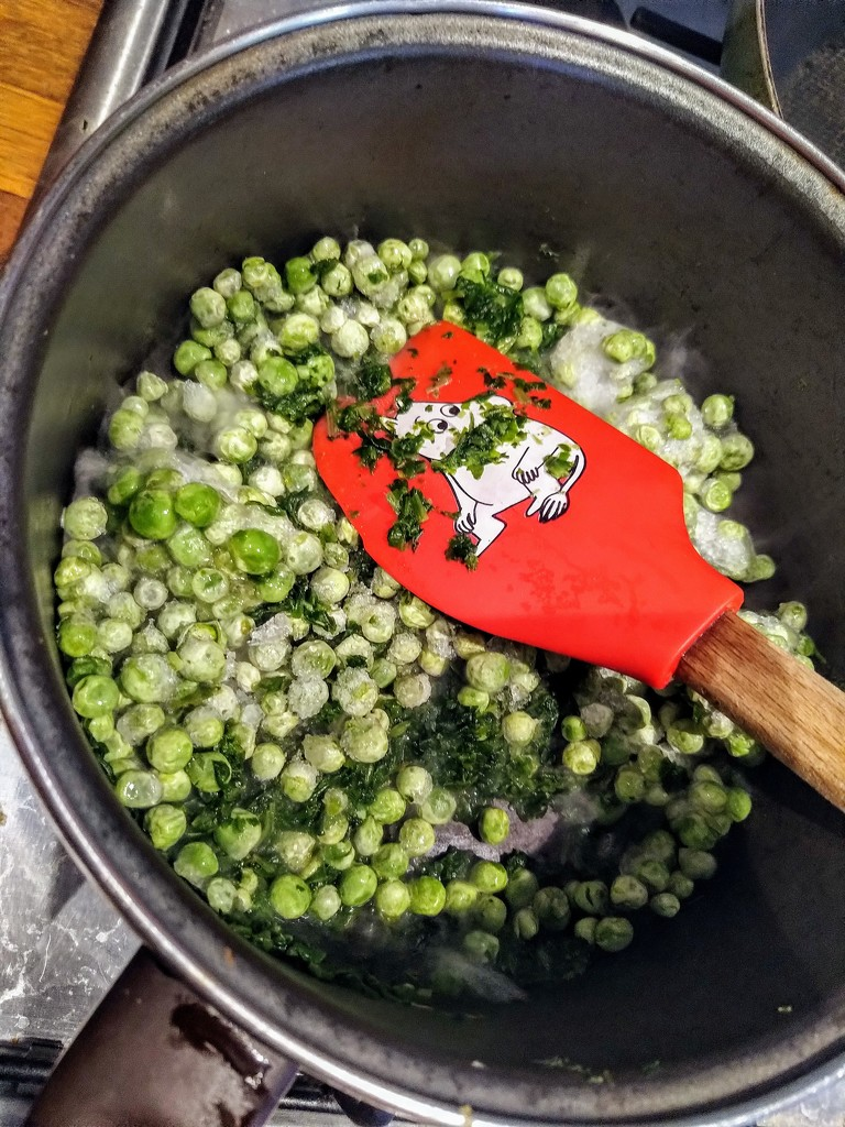 Frozen peas by boxplayer