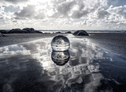 8th Jun 2020 - beach. ball.