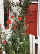 8th Jun 2020 - The red door at the end of a long trip!
