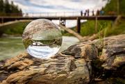 9th Jun 2020 - Belton Bridge through the Crystal Ball