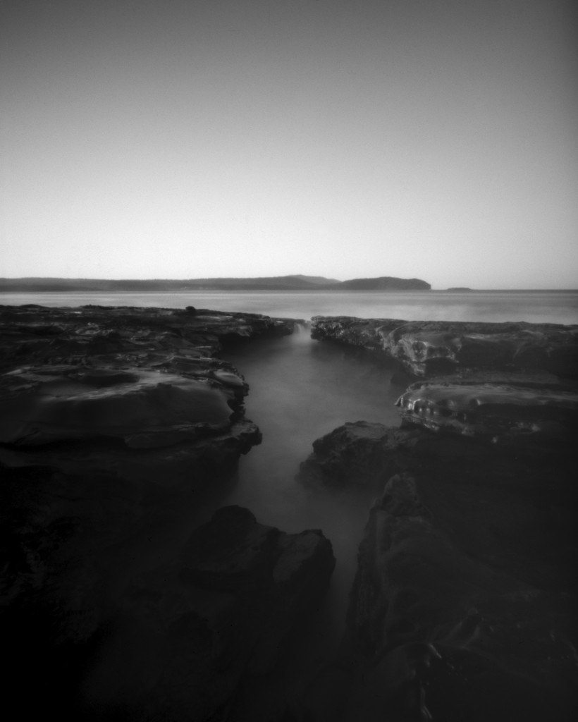 Dusk at South Durras  by peterdegraaff