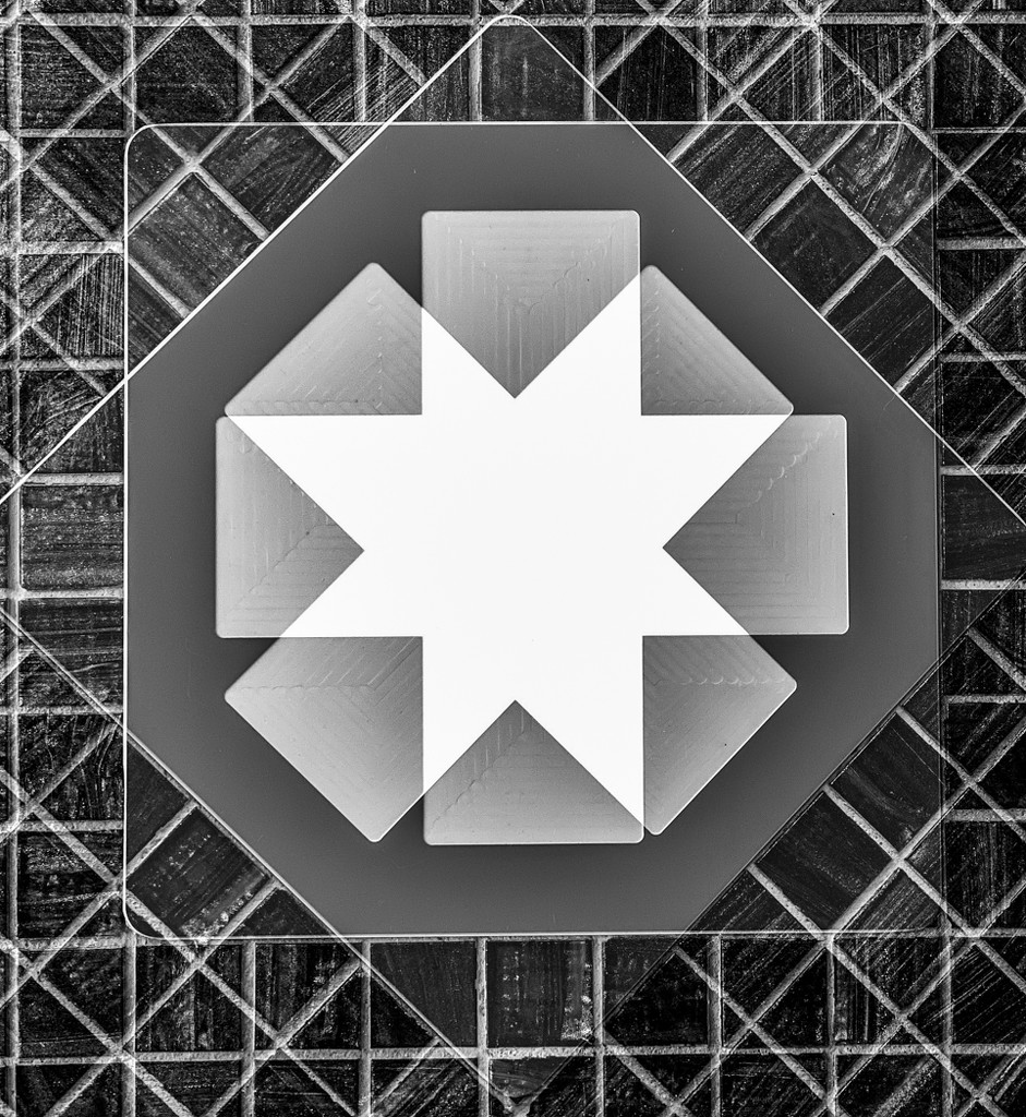 First Aid Cross - Double Exposure by sprphotos