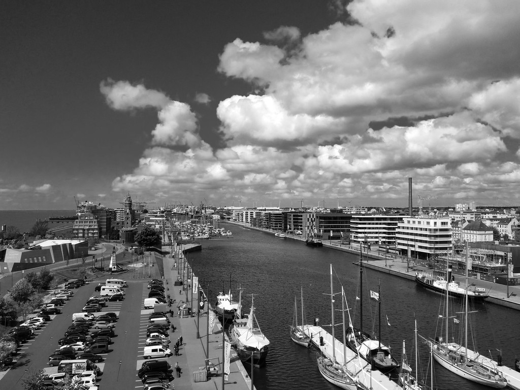 Bremerhaven from above by toinette
