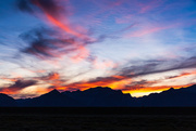 11th Jun 2020 - Sunset Over the Tetons