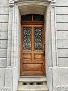 13th Jun 2020 - Eight hearts on a brown door.
