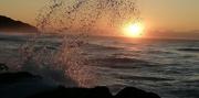 6th Jun 2020 - Crashing waves at sunrise