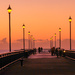 Before sunrise on the pier by maureenpp