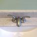 Old faucet; new vanity top