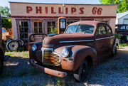 17th Jun 2020 - The Old Chevy and the Old Phillips 66