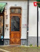 19th Jun 2020 - 45 hearts on a door at #35.